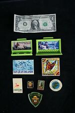 Lot 9 OF Vintage Smokey The Bear Refrigerator Magnets Western USA Colorado Other