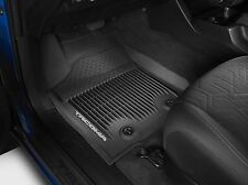 2016 2017 TACOMA DOUBLE CAB ALL WEATHER RUBBER MATS FLOORLINERS  (AUTO TRANS)