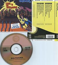 BALTIMORA-LIVING IN THE BACKGROUND-1985-REMASTERED IN 2005-CD IN GOLD COLOR-M-