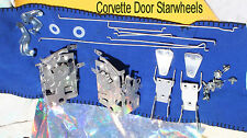 Corvette 1956 1957 1959 1960 1961  1962 Door Starwheel Rods Triangle Trapeze set