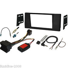 FK-769-Q BMW 5 SERIES E39 1997 to 2003 DOUBLE DIN FASCIA & QUADLOCK STALK KIT