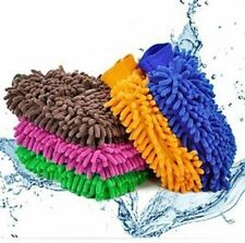 New Microfiber Chenille Car Vehicle Care Washing Brush Sponge Pad Cleaning Glove