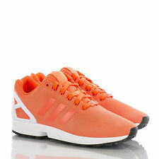 ADIDAS ORIGINALS ZX FLUX SOLAR ORANGE US 10 UK 9,5 EUR 44 B34509