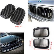 For 92-96 BMW 3Series E36 318 Flat  Black Kidney Sport Front Hood Grill M3 ,