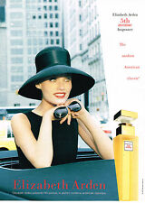PUBLICITE ADVERTISING 124  1997  ELISABETH ARDEN   parfum femme 5th avenue