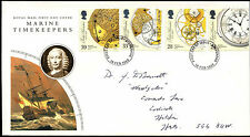 GB FDC 1993 Marine TImekeepers, Stevenage FDI  #C39454