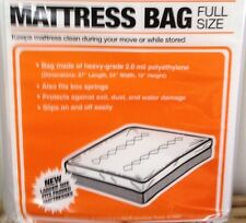 NEW Full Size Mattress / Box Spring bag for moving storage protection Ships Fast