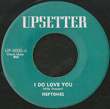 "HEPTONES - I DO LOVE YOU - UPSETTER 1972 LEE PERRY ORIG REGGAE 45 7""- Listen"