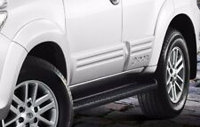SET OF 4 GENUINE TOYOTA FORTUNER 2009-2014 BODY CLADDING UNPAINT