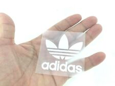 ADIDAS LOGO WHITE IRON ON PATCH SPORTS LOGO DIY T-SHIRT CLOTHING POLO #8