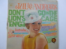 Julie Andrews ‎– Don't Go In The Lion's Cage...LP, Aus