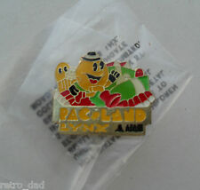 Video Game Atari Lynx Pac-Man PAC-LAND Rare METAL PIN BADGE Pins Pacland Pacman