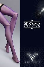 The Vogue Sexy Purple Stocking Legging for Barbie Silkstone Fashion Royalty 2
