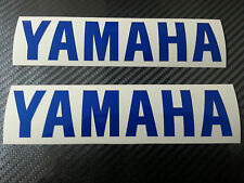 2 x Yamaha YZF R1 R6 R125 Blue Reflective motorcycle sticker decal motorbike