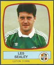 PANINI FOOTBALL 88-#125-LUTON TOWN-LES SEALY
