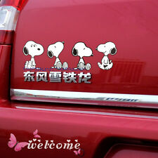 "SNOOPY Cartoon Cute Car Decal Sticker Auto New 9.4""×3.1"""