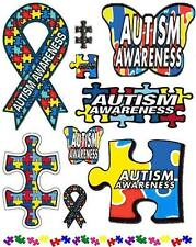 Autism Awareness Scrapbooking Craft Sticker Sheet Set #1
