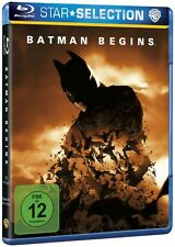 Blu-ray BATMAN BEGINS # Christian Bale, Michael Caine ++NEU