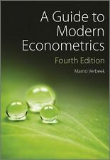 A Guide to Modern Econometrics by Marno Verbeek (Paperback, 2012)
