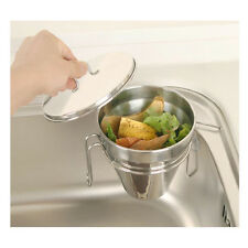 New Stainless Steel Sink Food Waste Disposal Food Garbage Kitchen Tray