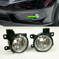 2x For Honda Civic 10TH 2016 CAR Front Bumper L&R Fog Lamp Light Cover No Bulb