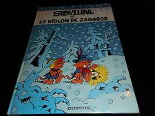 Raymond Macherot : Sibylline 10 Sibylline et le violon de Zagabor EO Dupuis 1984