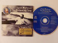 CD Single KAREN MATHESON The dreaming sea 5 titres cap3 keltia Survival  promo