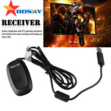 AU PC USB WIRELESS GAMING RECEIVER ADAPTER FOR XBOX 360 CONTROLLER