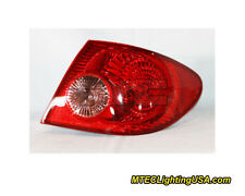 TYC Right Outer Side Tail Light Lamp Assembly for Toyota Corolla 2005-2008