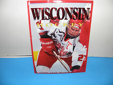 NCAA Wisconsin Badgers Mens Hockey 1999-00 Media Guide
