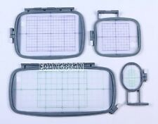 NEW 4-Piece Embroidery Hoop Set for Brother PE770 PE700 PE700II Machine - PE-770