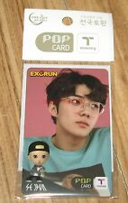 EXO EXORUN SE HUN SEHUN T-MONEY TMONEY POP CARD PHOTOCARD SEALED