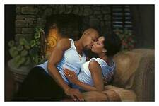 """African American Art """"Always and Forever"""" Black Love Print by Henry Lee Battle"""