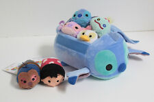 "Disney Store USA ""LILO & STITCH"" Small BAG & Complete Mini TSUM TSUM Set - NWT"