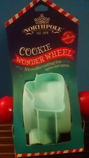 Hallmark Northpole Christmas Cookie Wonder Wheel Plastic Cookie Cutter New 2014