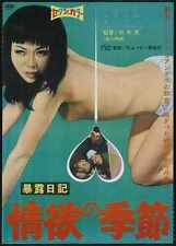 Exposure Diary Season Of Lust 1969 Poster 01 A3 Box Canvas Print