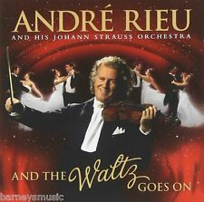 ANDRE RIEU ( BRAND NEW CD & DVD ) AND THE WALTZ GOES ON