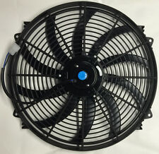 "16"" INCH ELECTRIC COOLING RADIATOR FAN CURVED HOT ROD PROCOMP Series"