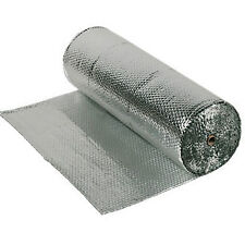 AIRTEC DOUBLE FOIL INSULATION LARGE 1.2m ROLL x 25m LENGTH (30m2)