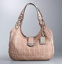 New Simply Vera Wang tailor ruched hobo handbag