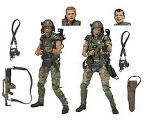 "Aliens - 7"" Scale Action Figures - Colonial Marines Hicks & Hudson 2-Pack - NECA"