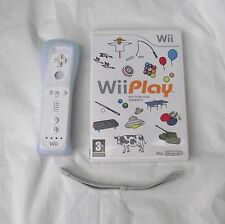 WII PLAY AND REMOTE CONTROLLER WII