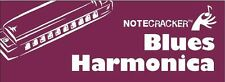 Notecracker Blues Harmonica Learn to Play Pocket Sized REFERENCE Music Cards