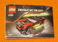 Lego Set 8150 INSTRUCTIONS ONLY Racers Glow in the Dark Manual Book Race Car
