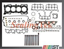 Honda 2.2L F22A Engine Cylinder Head Gasket Set w/ Bolts F22A1 F22A4 F22A6 motor