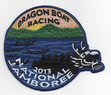 2013 National Jamboree Dragon Boat Racing Patch, Mint!