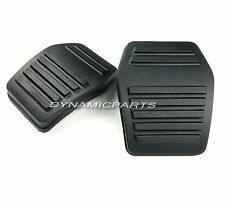 PAIR OF JAGUAR X TYPE BRAKE + CLUTCH PEDAL PAD RUBBERS GENUINE (MANUAL)