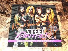 """Steel Panther Signed Community Property Limited Edition 7"""" Promo Vinyl Record 45"""