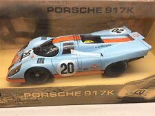 1:18 AUTOart Gulf Porsche 917K Steve McQueen Le Mans NEW 80030 - PLEASE READ!