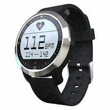 Black F69 Waterproof Smart Watch Pedometer Swim Calorie Activity Fitness Tracker